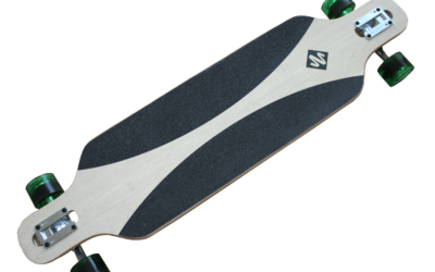 Streetsurfing® Longboard Freeride 39″ – Carving Green
