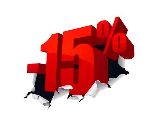 Willkommensgutschein -15% für [ Neukundenregistrierung + 1.Einkauf ] verlängert